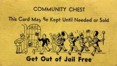 Hasil gambar untuk get out of jail free card